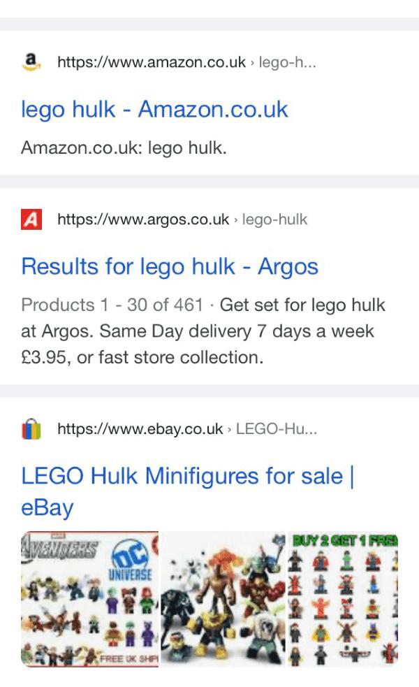 Google начал разделять результаты поиска широкой серой полосой